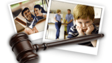Как оформить развод с детьми