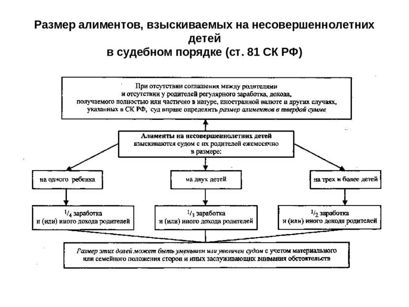СК РФ Статья 81