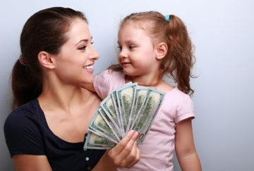Порядок взыскания алиментов на ребенка