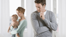 Алименты на ребенка до года и жену