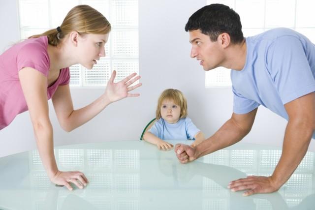 Что может требовать отец при разводе