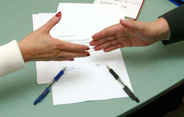 Алиментное соглашения между сторонами