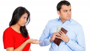 Взыскание алиментов на содержание супруги