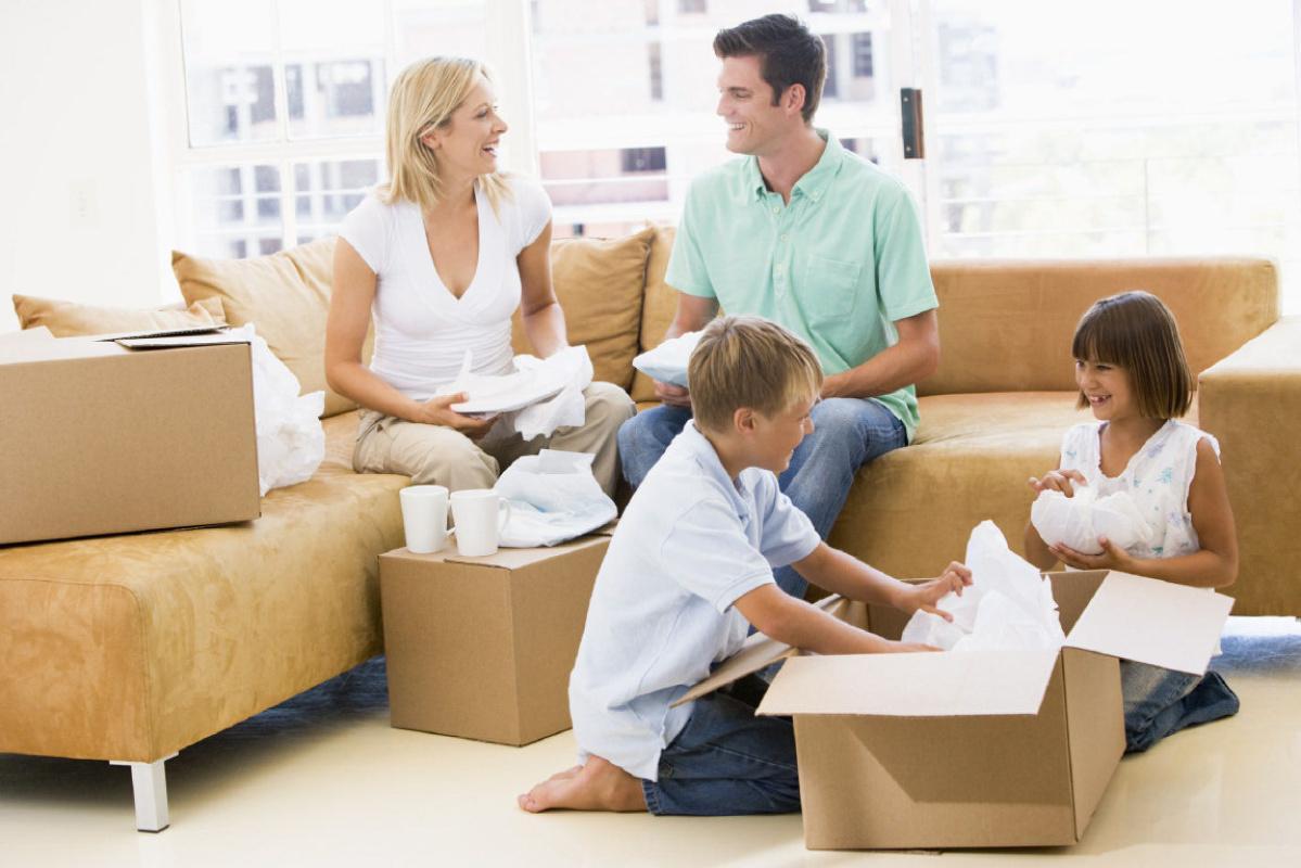 Как разделить квартиру, когда есть дети