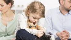 развод с детьми порядок