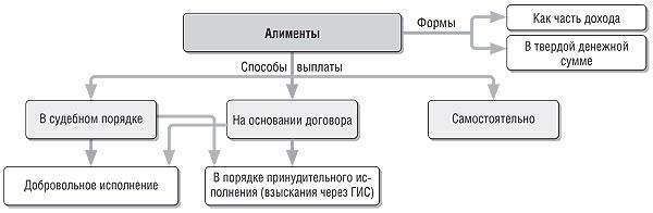 Семейный кодекс об алиментах в 2020 году