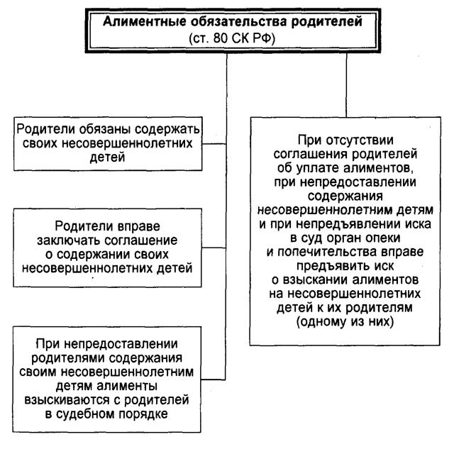 СК РФ Статья 80