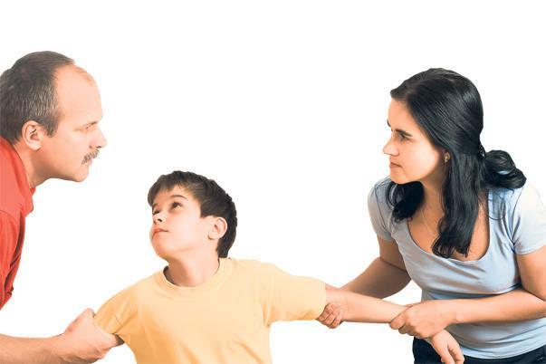Отцовские права при разводе