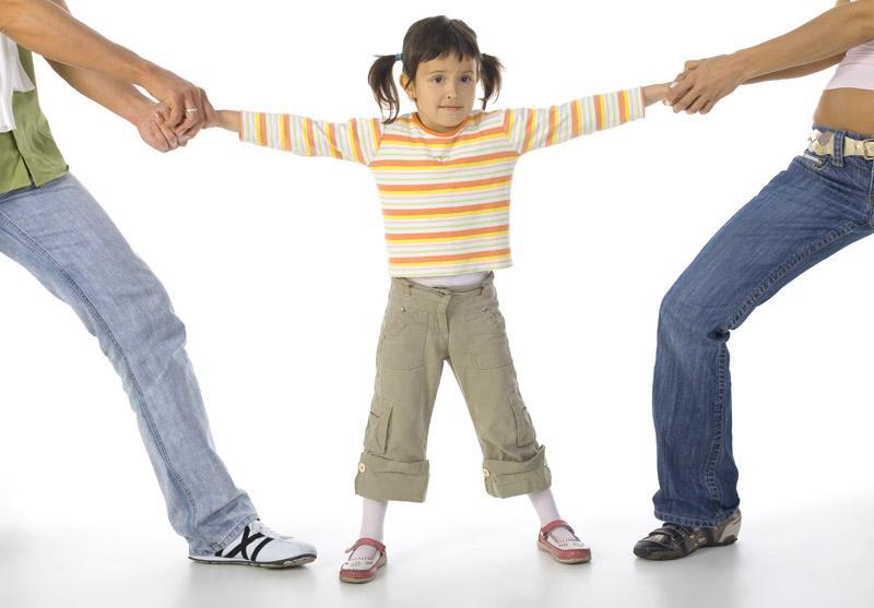 Главные ошибки родителей во время развода