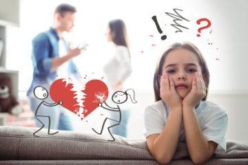 Как влияет развод на ребенка